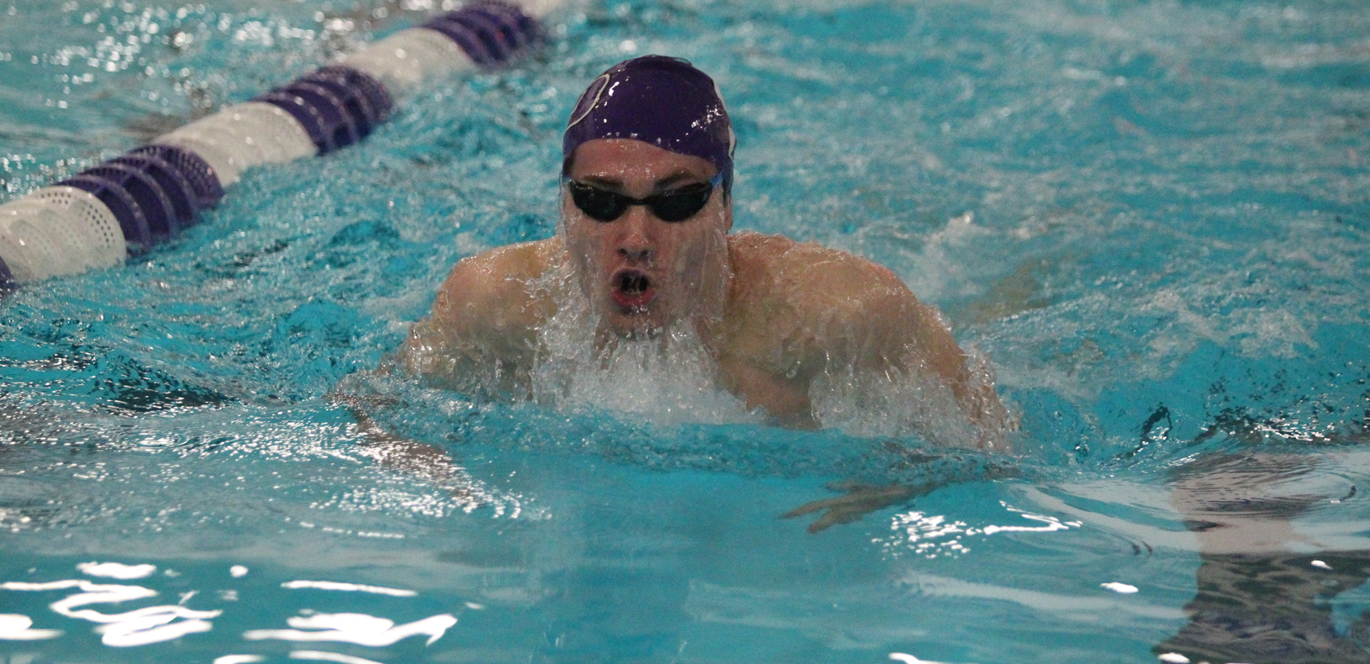 Sophomore Jack Donnelly helped a relay team take a win, while also winning an individual event on Saturday at Ramapo.