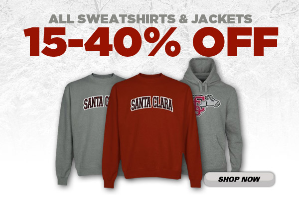 ALL Sweatshirts and Jackets 15-40% Off Through Oct. 27 On Bronco Online Retail Store!