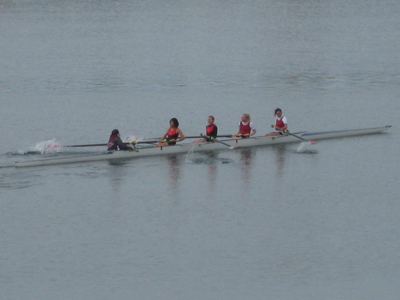 Varsity 8 team takes fifth place finish at Berg Cup over the weekend