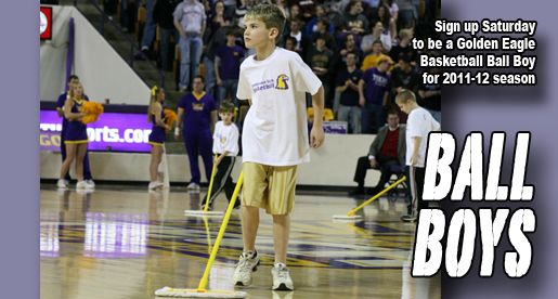 Men's basketball team looking for a few good.....Golden Eagle Ball Boys