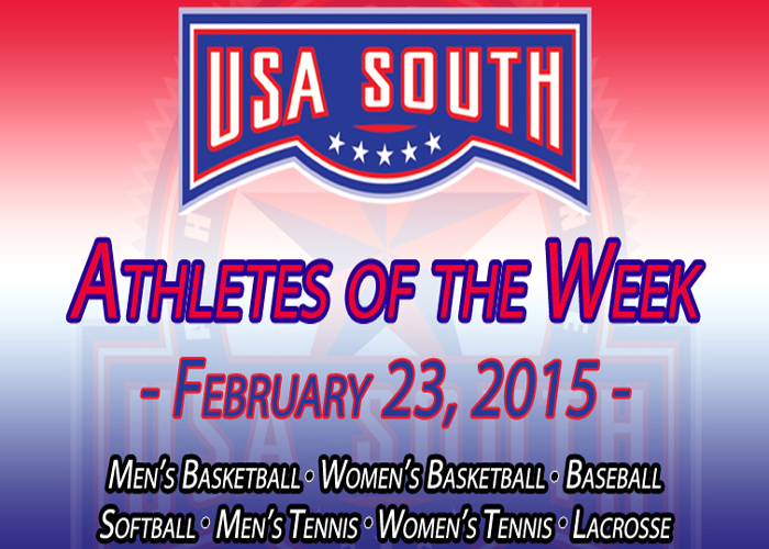Huntingdon's Freeman and Gonzalez recognized by USA South