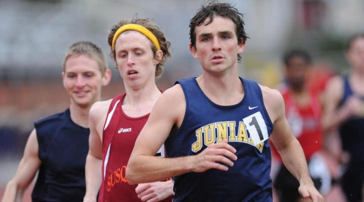 Juniata track teams compete at Messiah meet; Parker breaks Juniata record in 1500m at Bucknell Classic