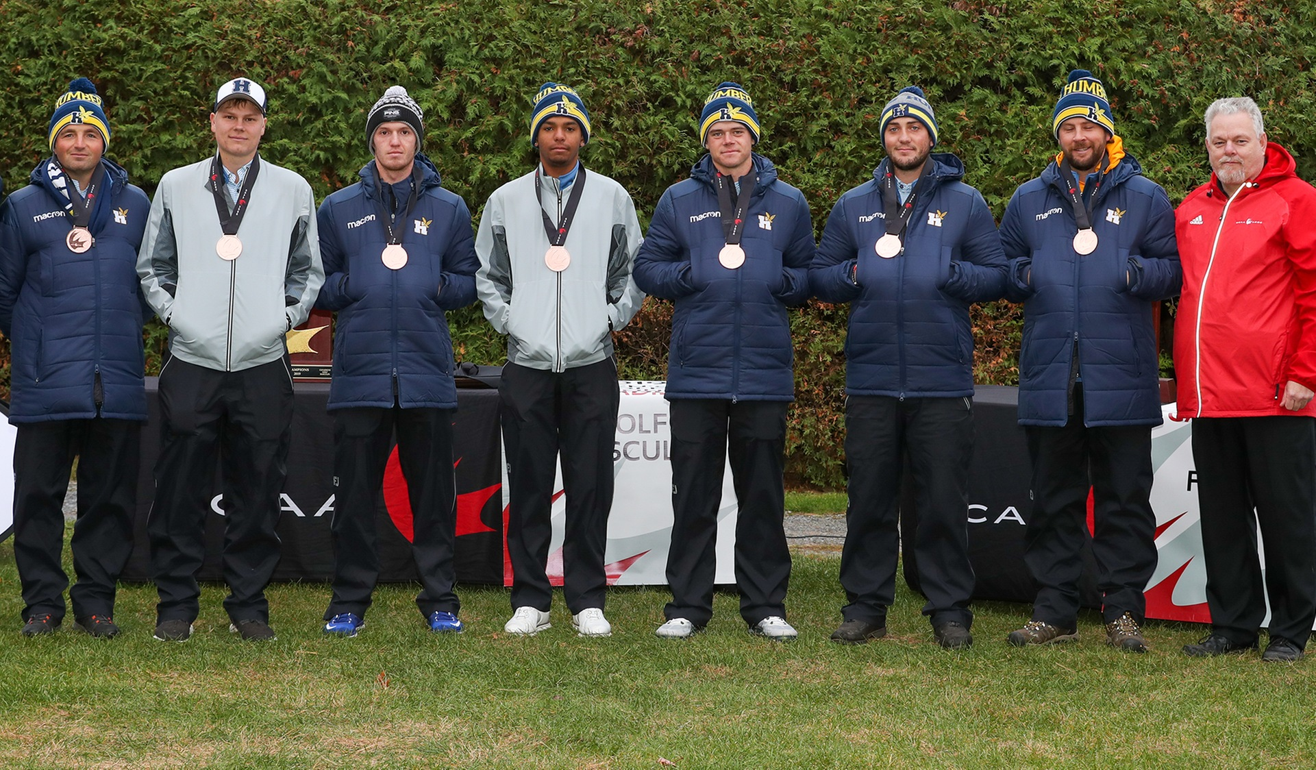 Men's Golf Capture CCAA Bronze Medal in Quebec