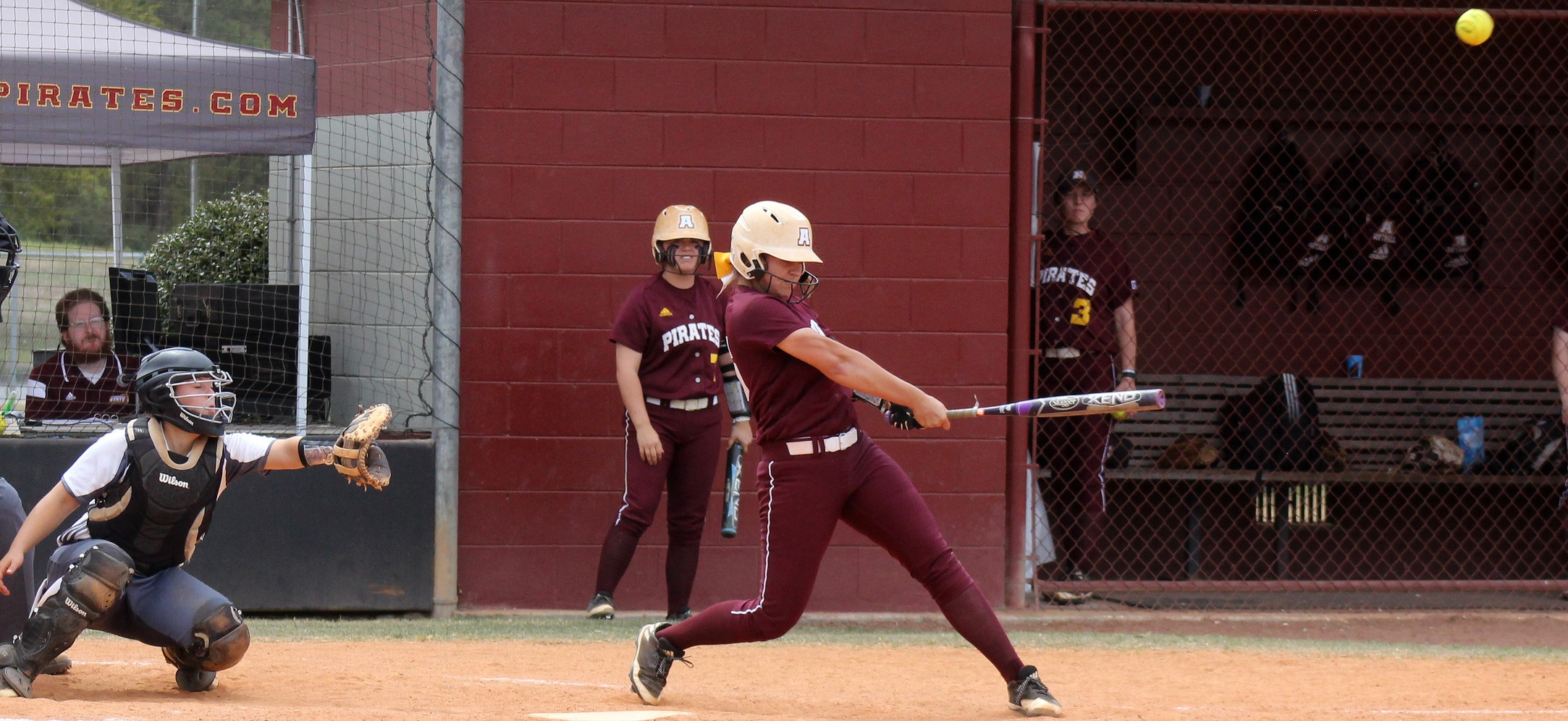Pirate Softball Uses Big Innings To Sweep UNC Pembroke On Saturday