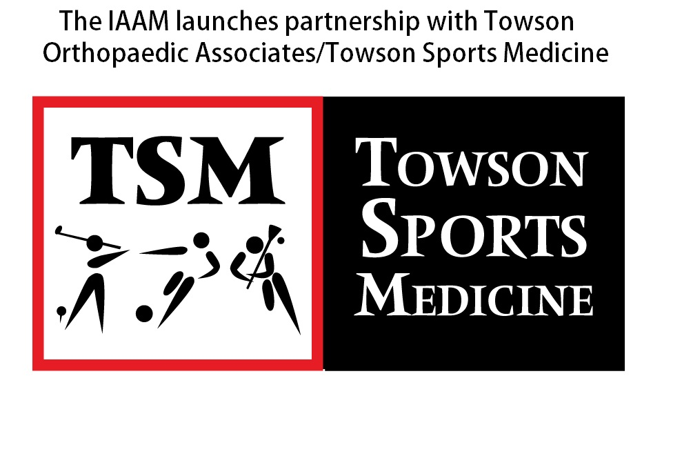IAAM FORMS PARTNERSHIP WITH TOWSON ORTHOPAEDIC ASSOCIATES/TOWSON SPORTS MEDICINE