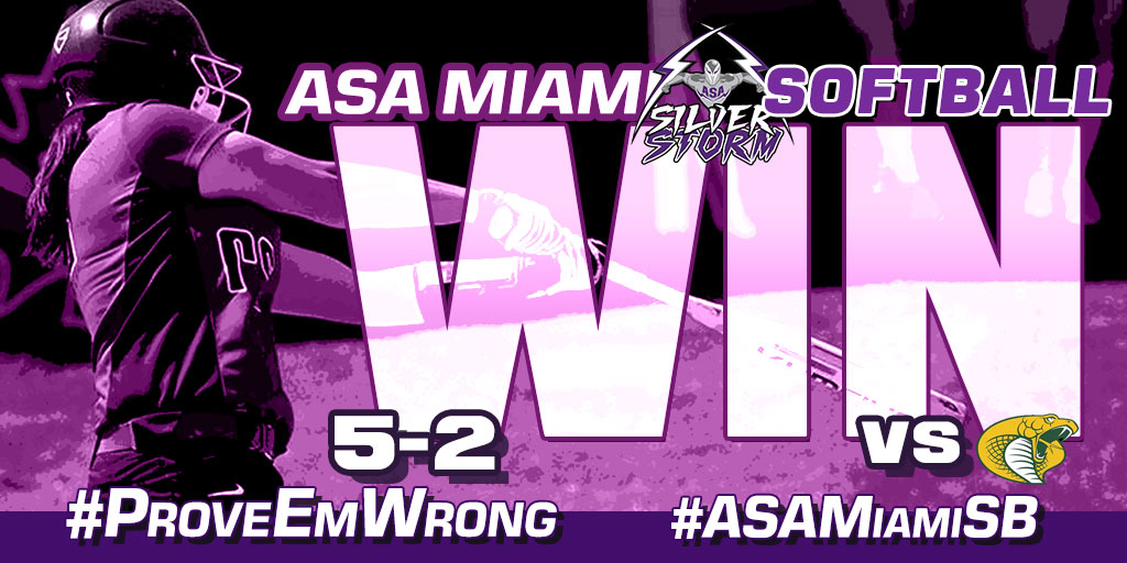 Week In Review: ASA Miami Softball Earns First-Ever Win
