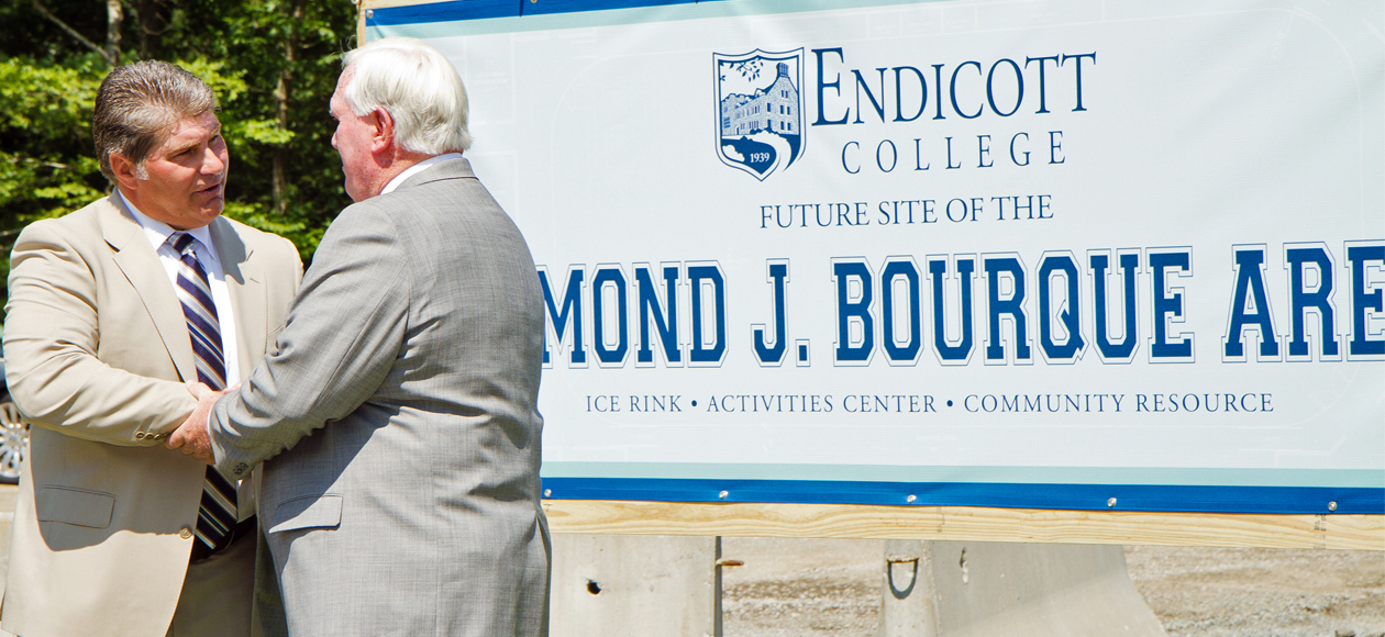 New Endicott Ice Arena to be Named for Boston Hockey Legend Ray Bourque