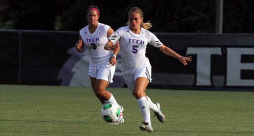 Golden Eagle soccer blanked 2-0 to conclude weekend road swing
