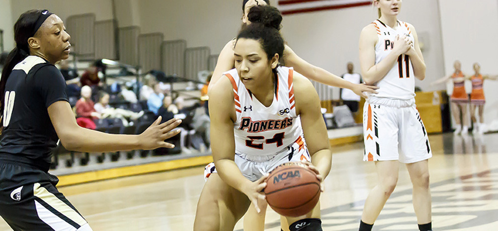 Pioneer comeback bid falls short in 76-66 loss at Anderson