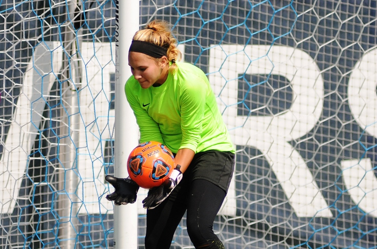 Women's Soccer: Kasey Smith makes 20 saves in 2-0 loss to Regis