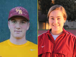 Ulrich and Tavé Named SCIAC Athletes Of The Week