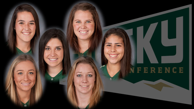 SIX SOFTBALL PLAYERS NAMED ALL-CONFERENCE; BROOKS SELECTED TO THE FIRST TEAM