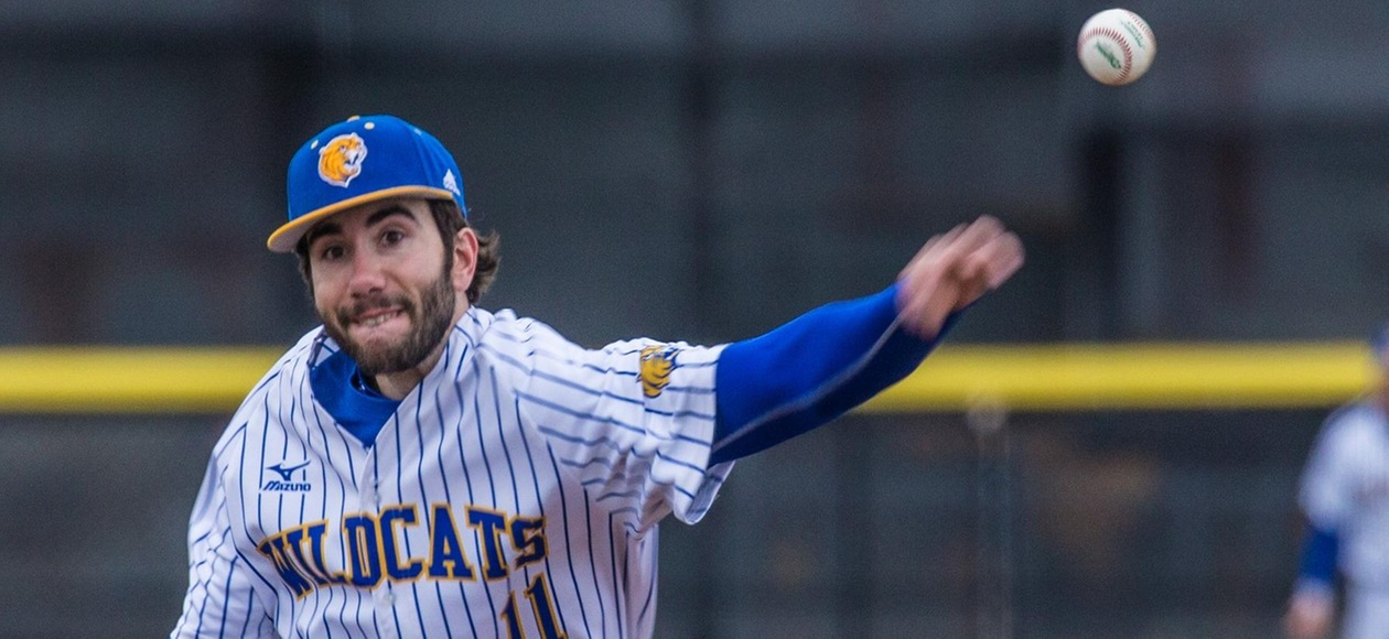 Budlong Pitches Wildcats to 7-3 Triumph over Roger Williams