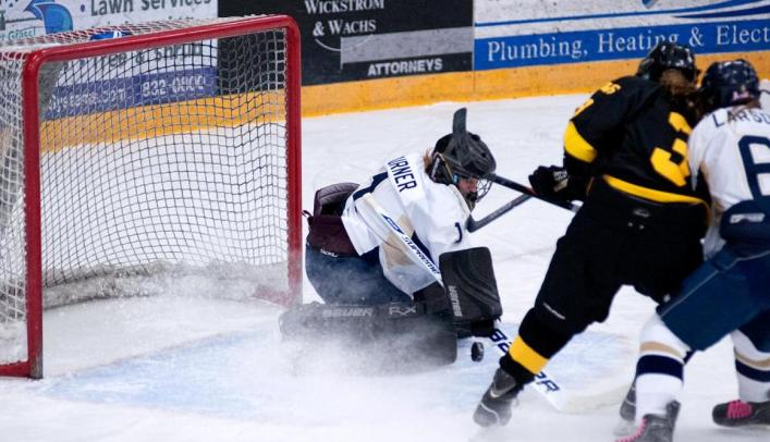 Women's Hockey Season Ends in NCHA Quarterfinals