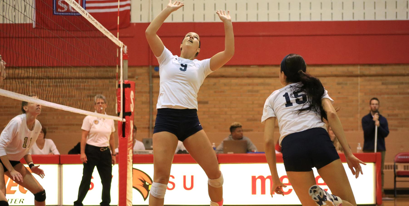Volleyball Clinches First Round GLIAC Tourney Home Match After 3-1 Win at Michigan Tech