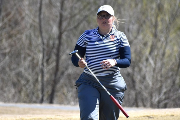 SAC's second-lowest single round score puts No. 25 C-N in second at Sunoco Campbell Oil Classic