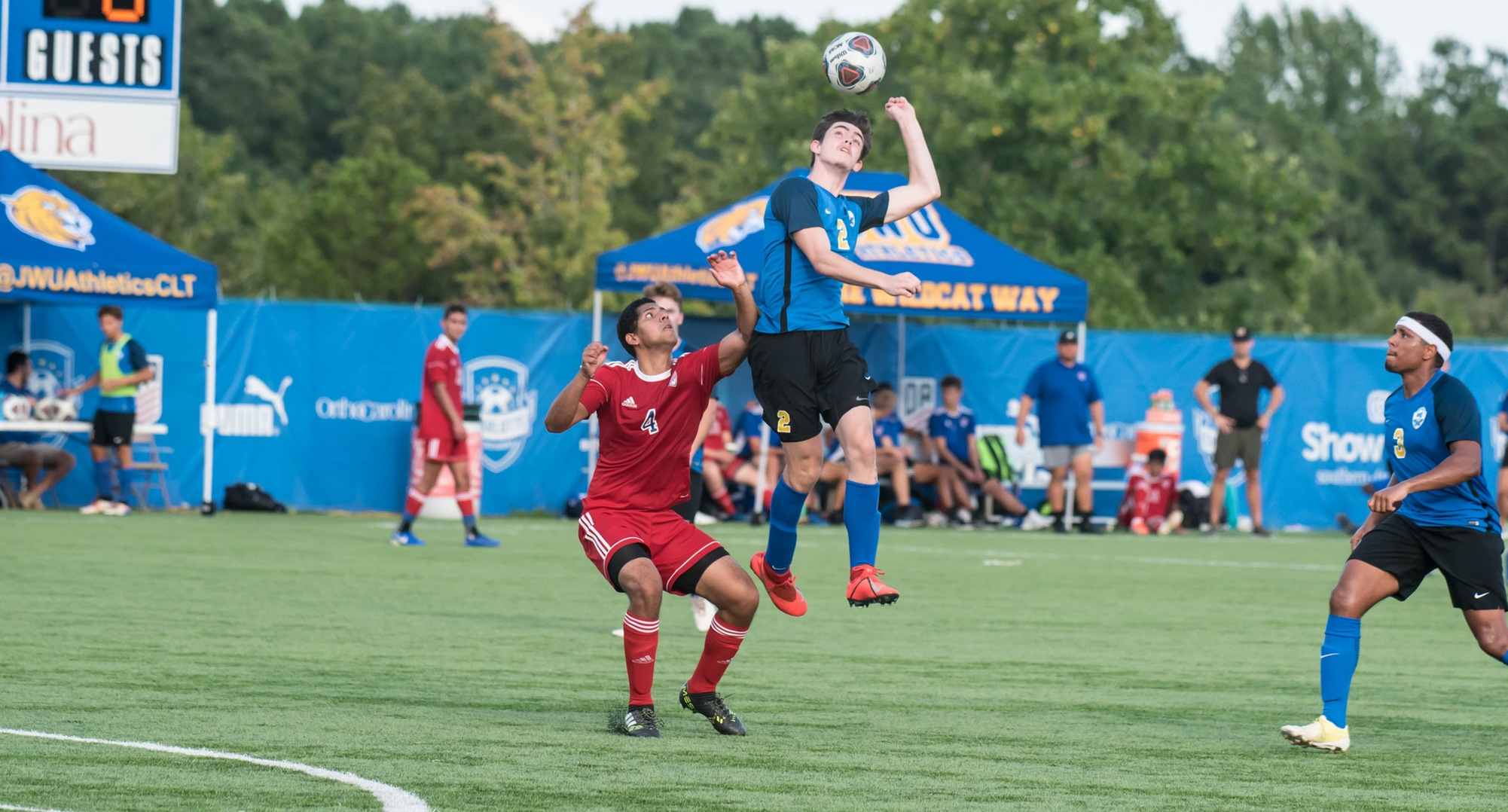 Men's Soccer Starts Road Trip With Win