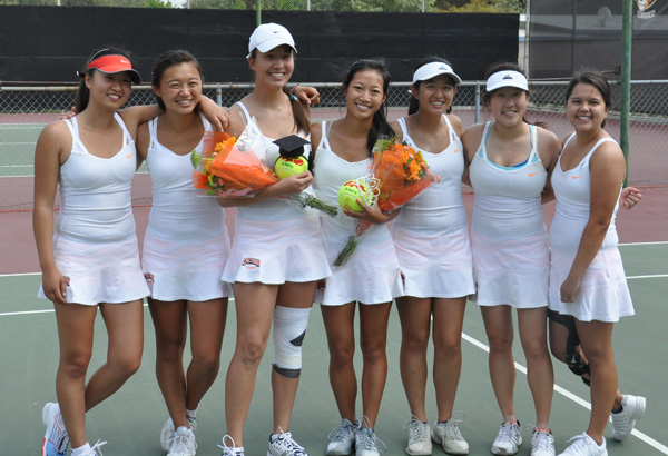 Senior Day Sucess for Caltech Against Cal Lutheran