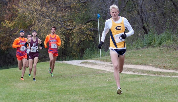 Men's Cross Country Third Place at WIAC Championships; Lau Earns Individual Title and Course Record