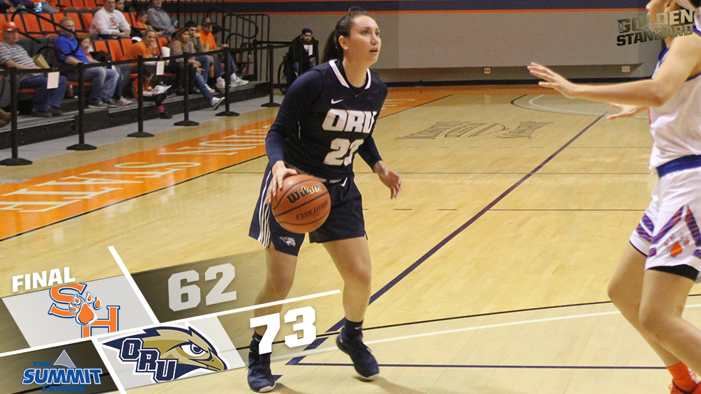 Golden Eagles Win 73-62 Friday at Sam Houston State