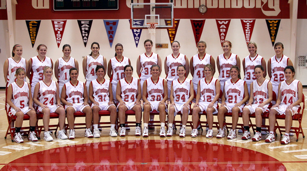 2008-09 Wittenberg Women's Basketball