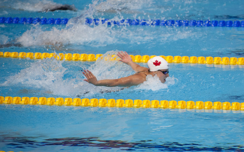Meet Team Canada: Olympian swimmer Savard savours the varsity experience