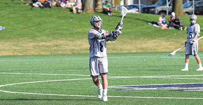 Men's Lacrosse Drops Hard-Fought Match at Drew