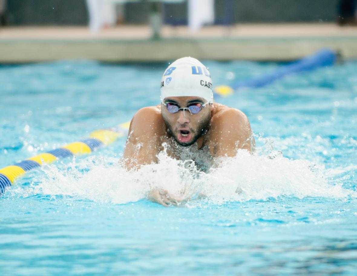 Allen Sets School Record in 50 Free on Day Two of Pac-12 Championships