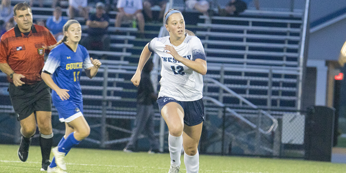 Women's Soccer rallies late to force overtime but falls to Goucher on golden goal
