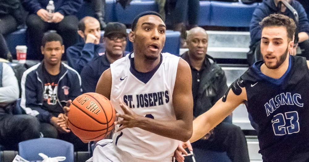 Three Bears Reach Double-Figures as Men's Basketball Squeaks by Sarah Lawrence