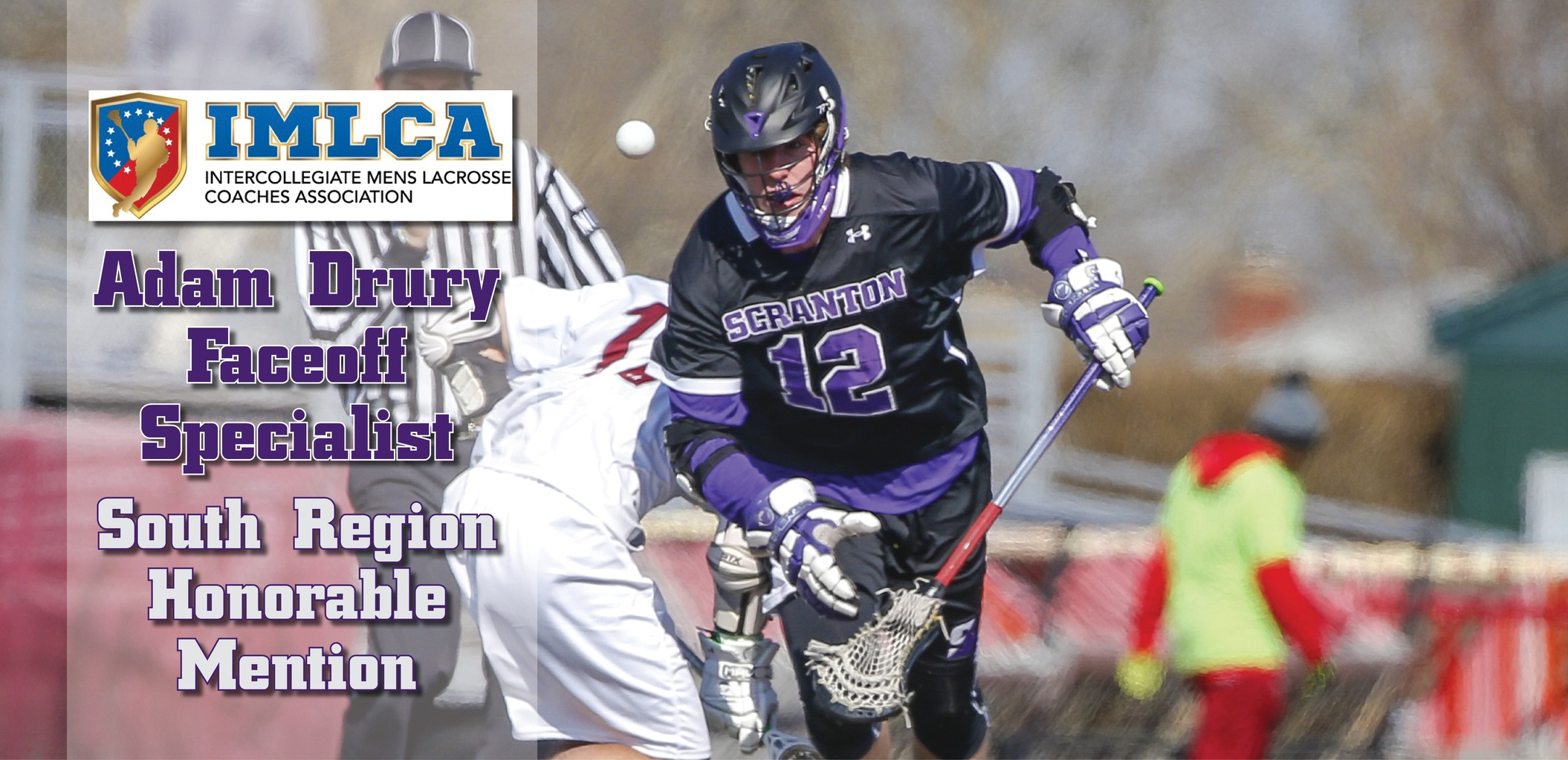 Drury Snags Honorable Mention All-Region Honors From IMLCA