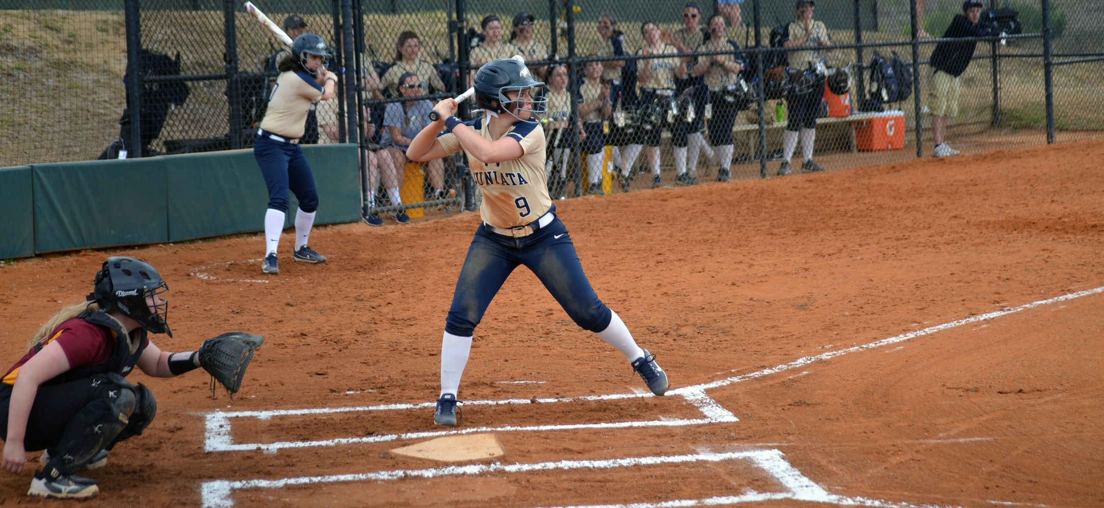 Softball Earns a Pair of Wins on Day One of the Spring Games
