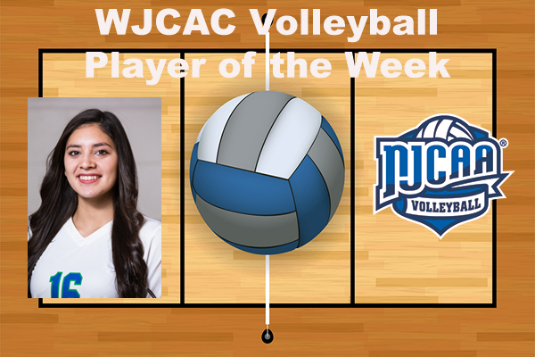 WJCAC Volleyball Player of the Week (Oct. 1-7)