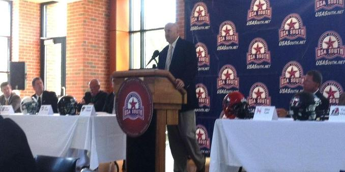 USA South Holds 2013 Football Media Day