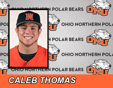 Sophomore Caleb Thomas leads Baseball in double header split against Thomas More (Ky.)