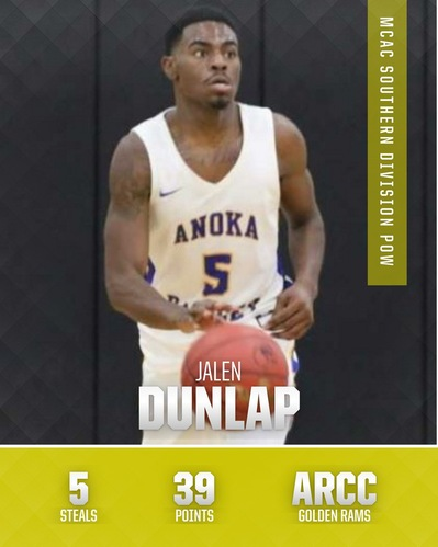MCAC Men's Basketball Players-of-the Week, Notable Performances