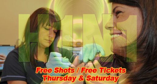 Free H1N1 shots available, free tickets to game with vaccination