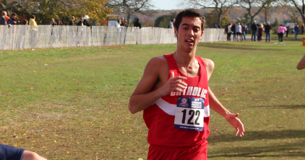 Men's Cross Country Places Third at Mustang Stampede