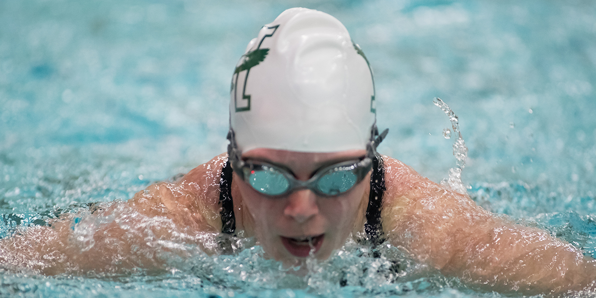 Women's Swimming & Diving in a Two-Way Tie for 17th Place at NEISDA Championship Through Day Three