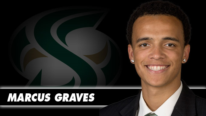 NATIONAL WEEKLY AWARDS POURING IN FOR MEN'S HOOPS' MARCUS GRAVES