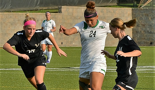 Gabby Perry Scores Twice as Wilmington Women's Soccer Finishes Nonconference Schedule with 5-1 Victory against Millersville