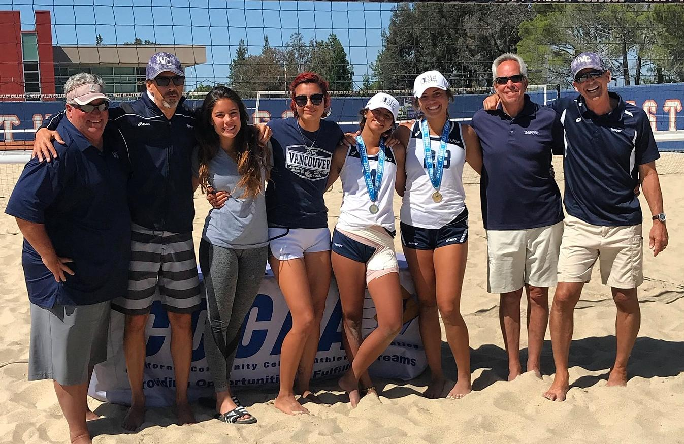 Ka'awaloa and Ramseyer win state beach volleyball pairs title