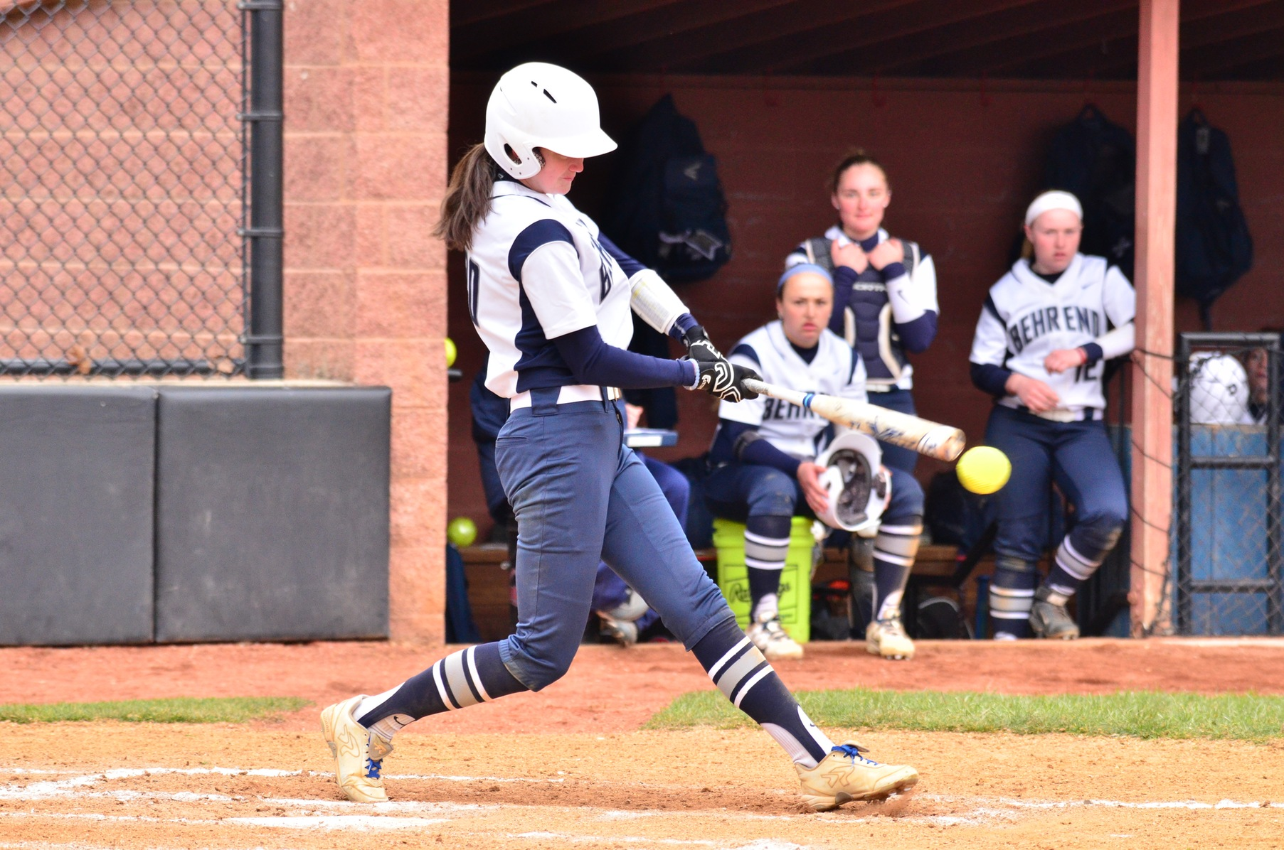 Gozzard Gets 100th Career Hit; Lions Sweep Pitt-Greensburg