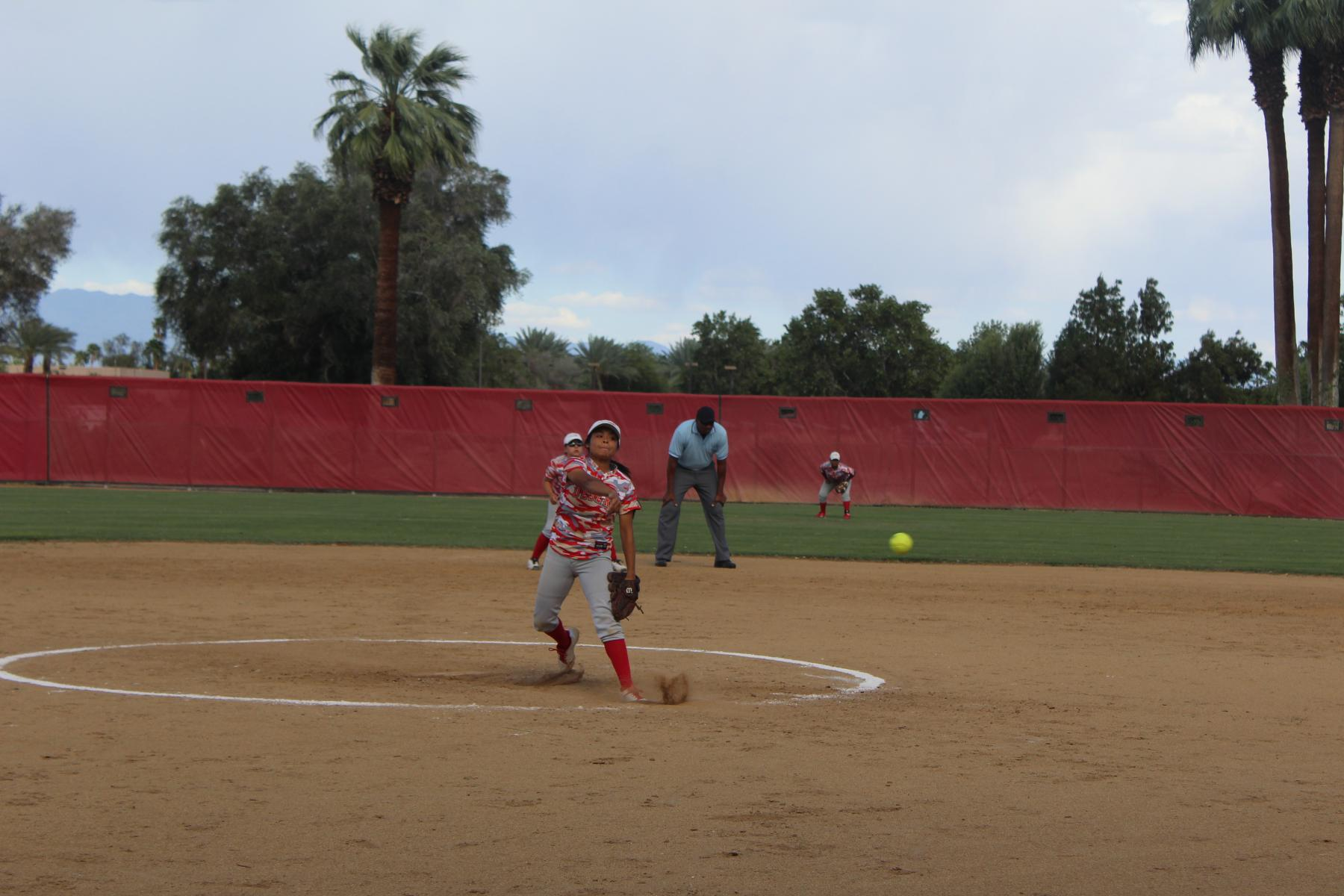 Softball Drops Foothill Matchup to Visiting San Bernardino, 4-2