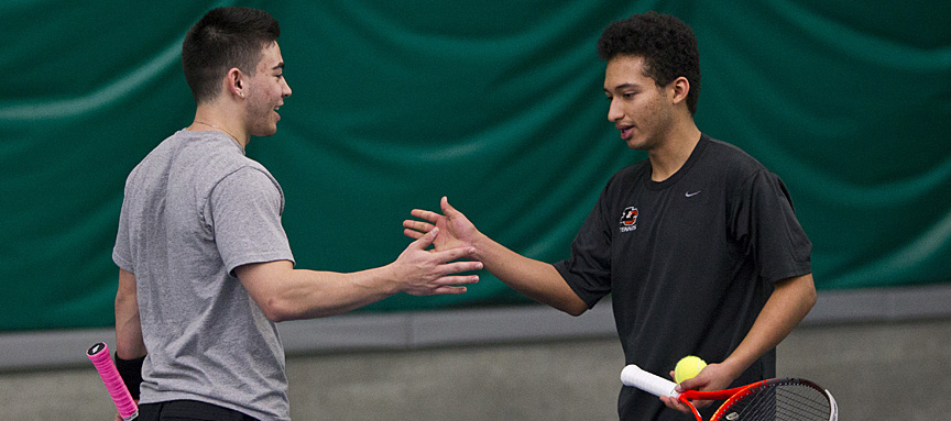 Occidental Too Much for Men's Tennis in 6-3 Loss