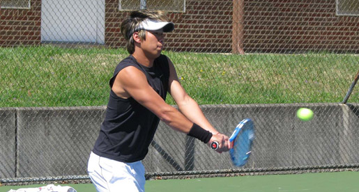 Tech men sweep singles to top Morehead State, 6-1