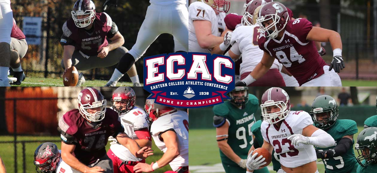 Bainter, Wilcox, Giorgio, and Hayden Earn ECAC All-Region Recognition