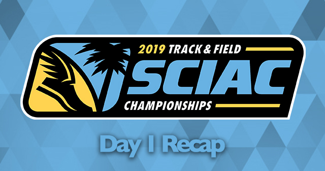 SCIAC Men's and Women's Outdoor Track & Field Championships - Day 1 Recap