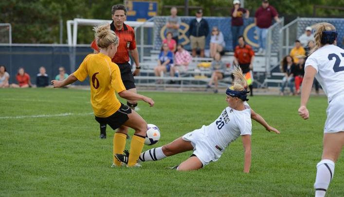 Blugolds Shutout by Titans in Oshkosh