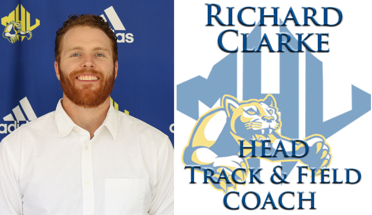 Richard Clarke named new head track and field coach